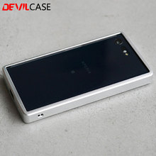 Buy DEVILCASE SONY XPERIA X Compact 4.6inch Protective Aluminum Bumper Frame CNC Cutout XC Mobile Phone Metallic Cases for $39.80 in AliExpress store