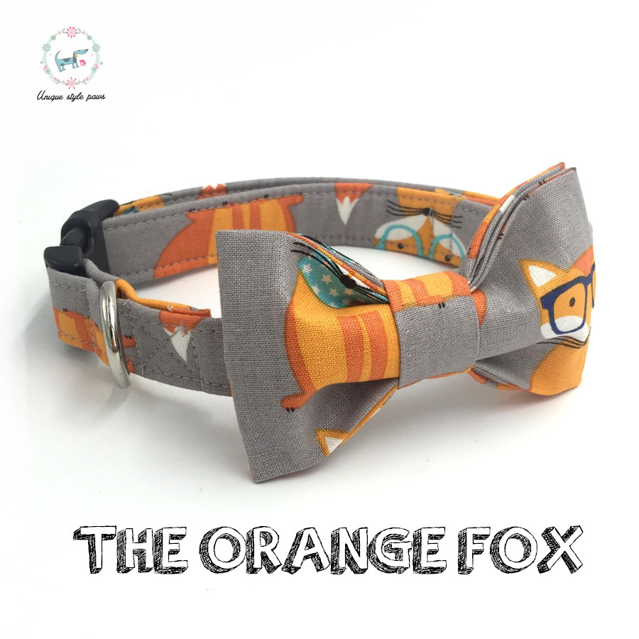 Orange Service Dog Collar