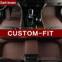 Custom fit car floor mats for Lexus CT200h GS ES250/350/300h RX270/350/450H GX460h/400 LX570 LS NX 3D car-styling carpet liners