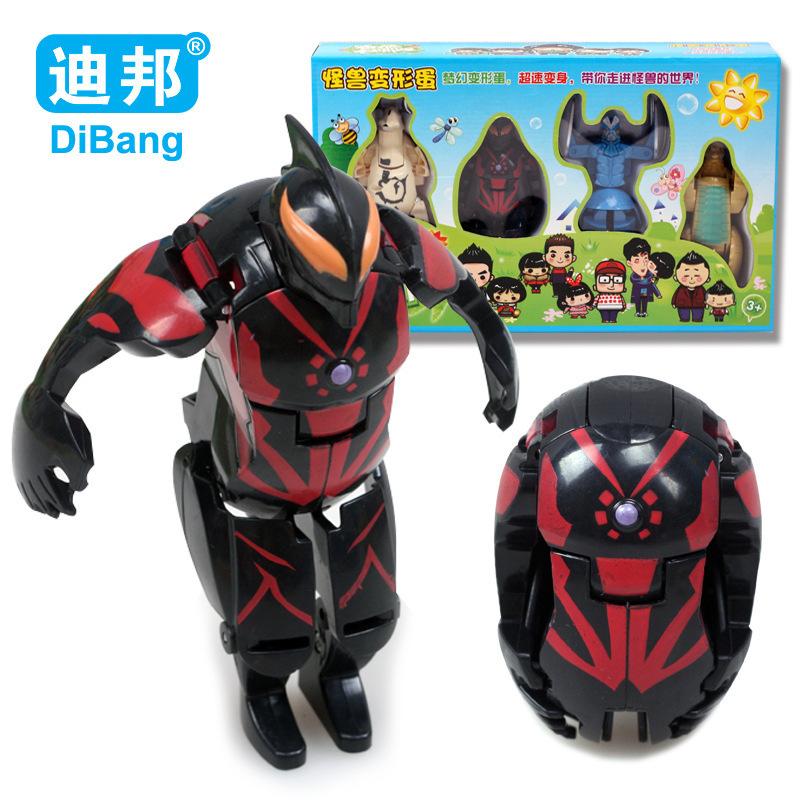 Monster Toys For Boys : Toys for children gift deformed monster egg deformation