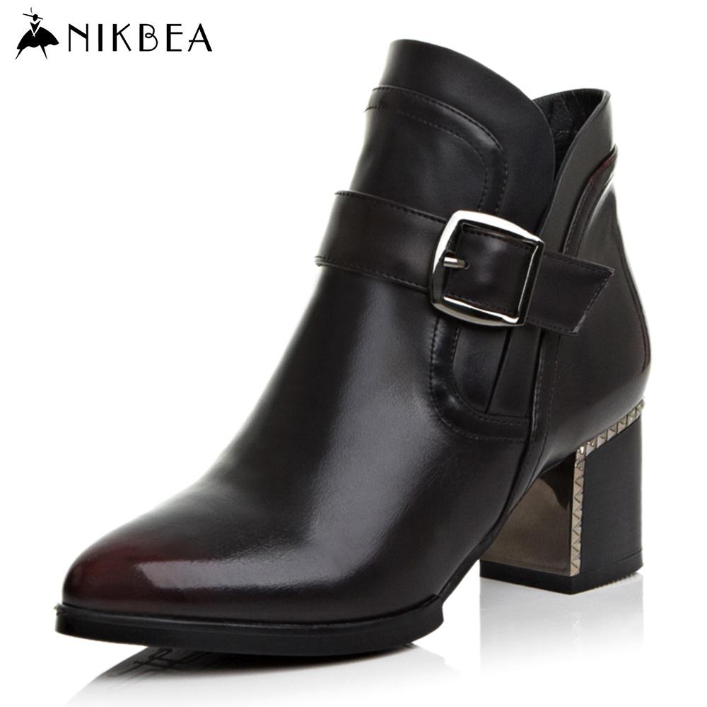 Chunky Heel Womens Shoes