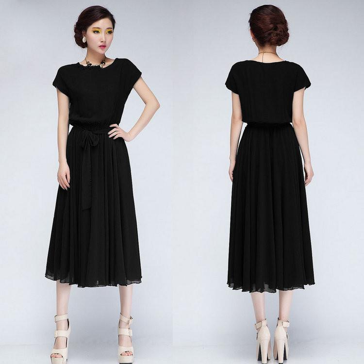 Elegant Korean Fashion Dress 2014 World Dresses