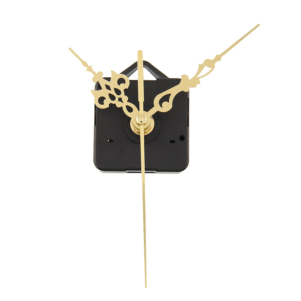 Luxury Charming Quartz Clock Movements Mechanism Parts Repair Making DIY Watch Tools with Gold Hands Silence(China (Mainland))