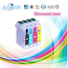 1set 73 T0731 -T0734 empty refillable ink cartridge T0731 for epson CX3900 CX5900 CX4900 CX4905 CX3905 printers Auto reset chip