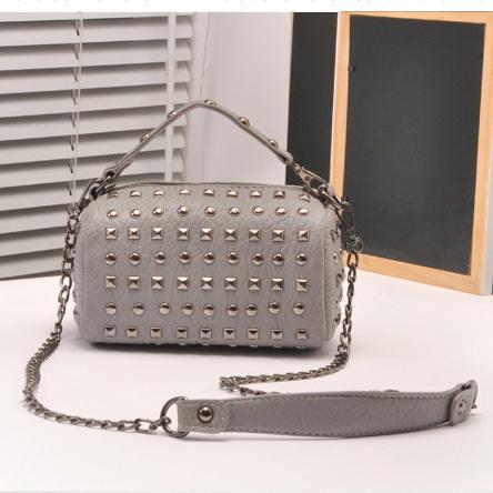 fashion women's PU leather handbag shoulder bag tote Boston Bag satchel purse evening short long strap HG07 - JOYGUY store