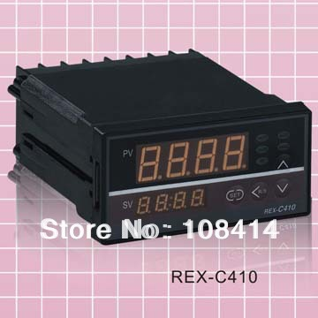 Digital PID Temp Controller REX-C410 48*96mm Horizontal, Input thermocouple K, Relay Output for heat<br><br>Aliexpress
