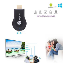 Free Shipping Media Player TV Stick Push Chrome cast Wifi Display Receiver Dongle Chrome Anycast Dl na Air play