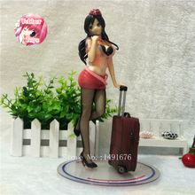 Anime figures Twilight Back to Paradise PVC Action figure Flight Attendant Lechery 26 cm Sexy Collection Doll