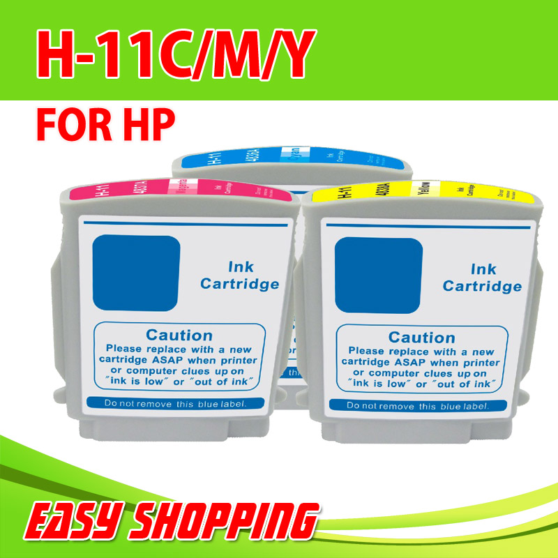 HP 11 Ink Cartridge HP11 Compatible Ink Cartridges Business Inkjet1000/ Officejet Pro K850/ K850dn/9100/9110/ Printer with Chip(China (Mainland))