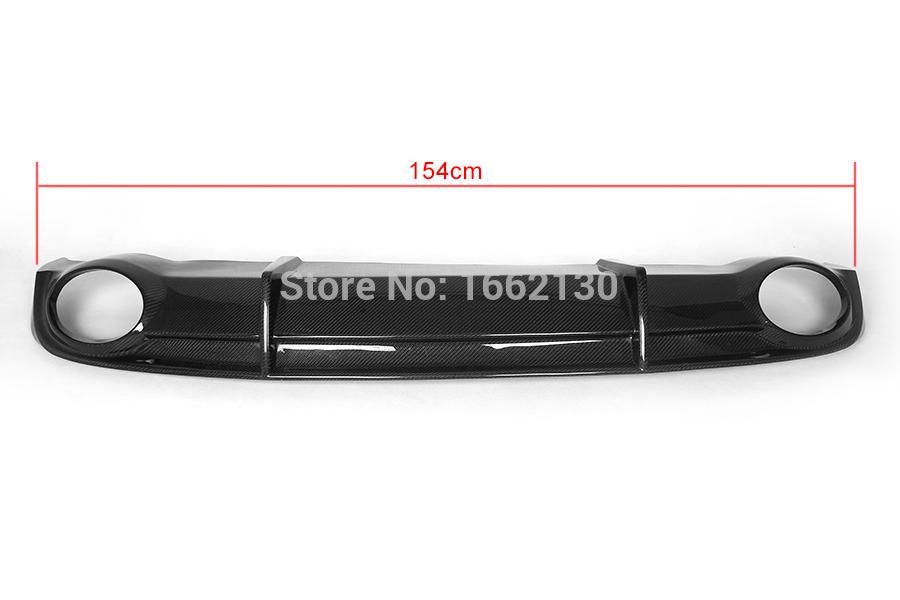 a7 rs7 styling carbon fiber rear bumper lip diffuser. Black Bedroom Furniture Sets. Home Design Ideas