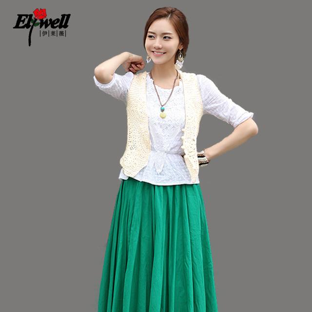 2012 cutout lace cotton vest shirt female