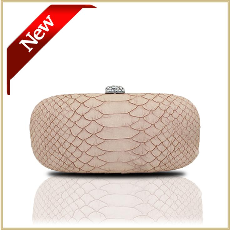 2015 Clutches Evening Bag Fake Snake Skin Clutch Bags Pu Leather Evening Handbags Box Women Party Bags With Long Chain#0855(China (Mainland))