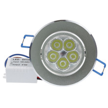 15W 5x3W Dimmable LED Ceiling Downlight lamp Recessed Light 110V Epistar chip for home illumination decor(China (Mainland))