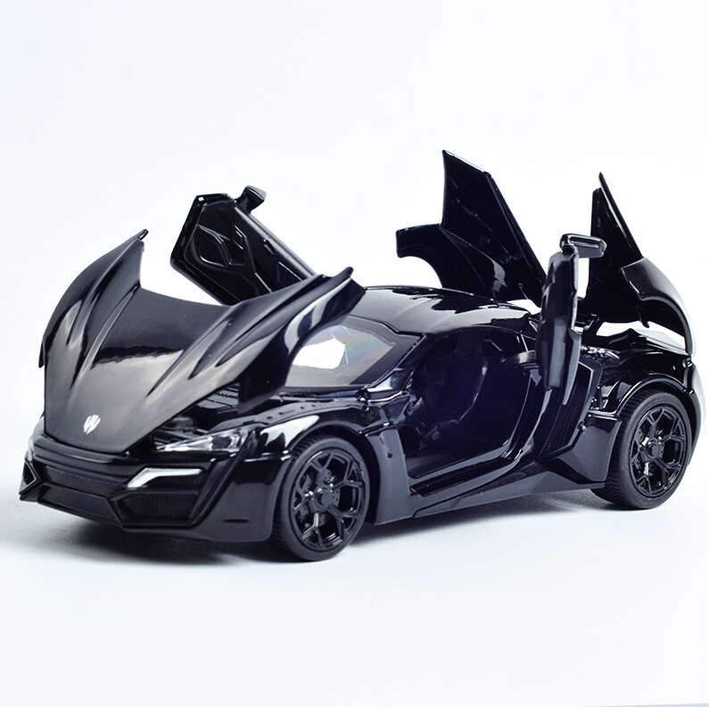 The Fast And The Furious Lykan Hypersport Lluxurious Alloy Cars Models Free Shipping Four Color Metal Classical Cars Collection(China (Mainland))