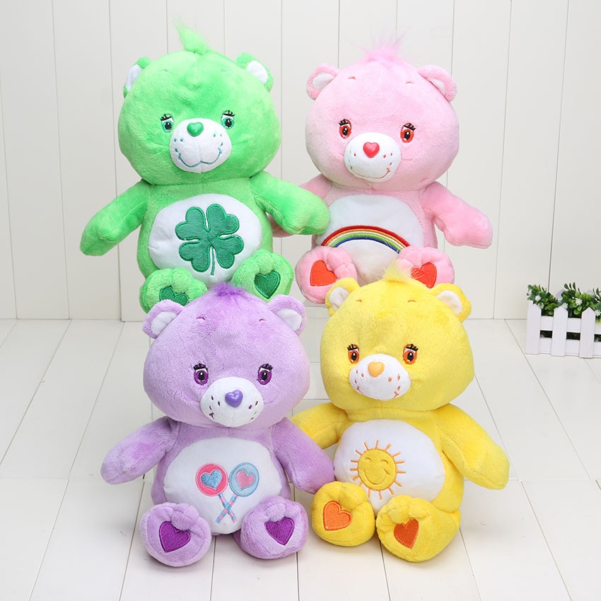 30cm 11.8inch Japanese care bears Soft Plush doll toy Stuffed Animal the entense doll birthday gift retail(China (Mainland))