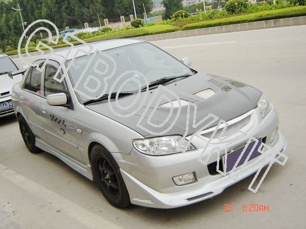Free shipping MAZDA 01-03 PROTEGE 323 SPORT FRONT MESH GRILL GRILLE<br><br>Aliexpress