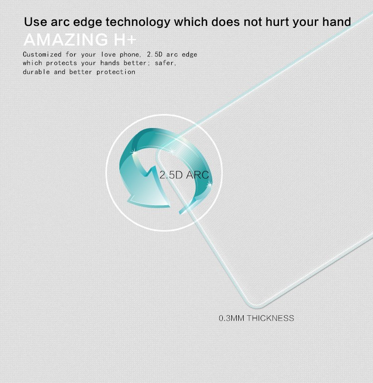 Защитная пленка для мобильных телефонов LG Nexus 5 Nillkin 9H 2.5 D Nexus 5