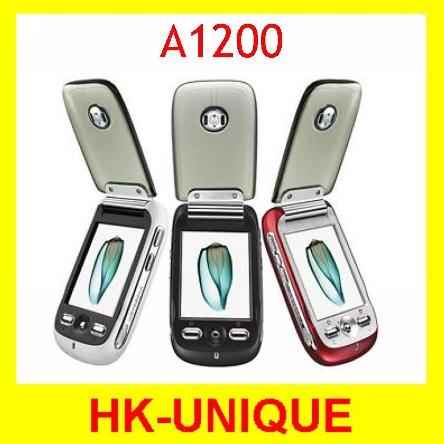 Original Unlocked Motorola A1200 Cell Phones Flip 2MP Camera Quad band GSM Free Shipping(China (Mainland))
