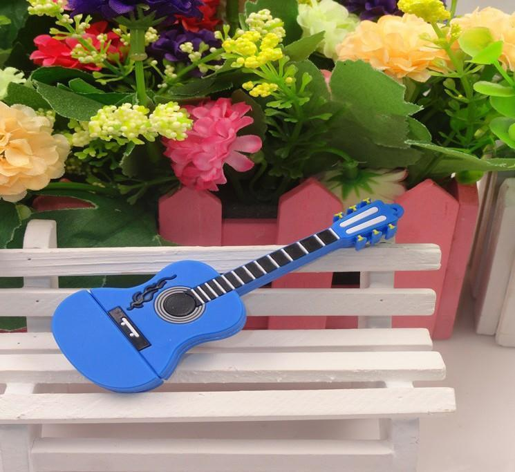 100% real capacity Guitar USB 8GB Flash Memory Stick Pen Drive Disk for Laptop Computer 8GB 16GB 16GB USB S60 28% off(China (Mainland))