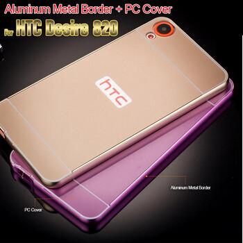 Etui do HTC Desire 820 | Metalowe z aluminiową ramką