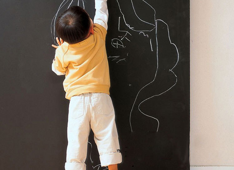 Гаджет  2015 hot Vinyl Chalkboard Wall Stickers Removable Blackboard Decals Great Gift For Kids 45cmx200cm None Офисные и Школьные принадлежности