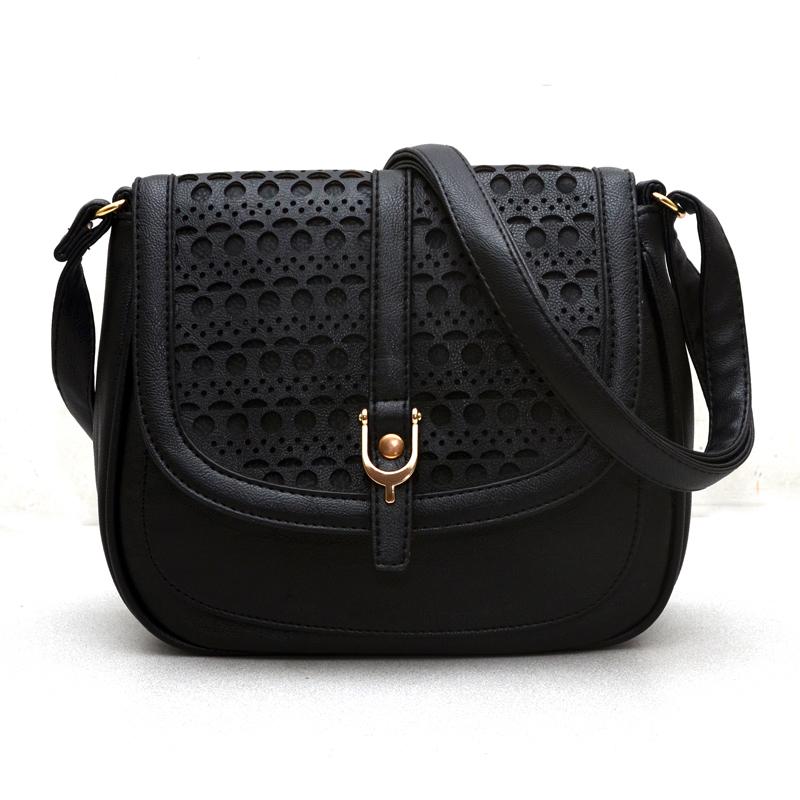 Гаджет  2015 new crossbody bags for women hollow out pu shoulder handbags bolsas femininas bag female messenger bag for women None Камера и Сумки
