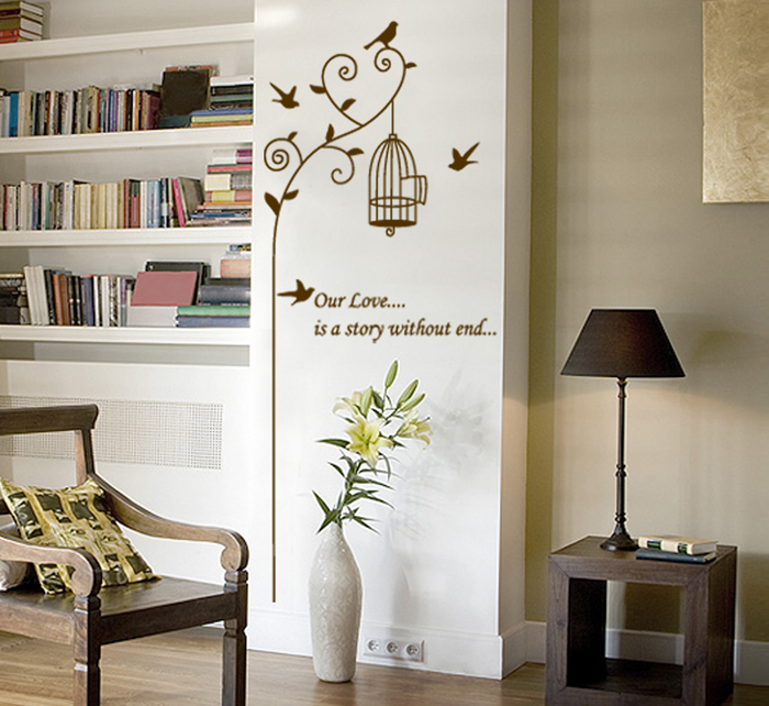 wholesale and retail new arrive vinyl wall sticker tree. Black Bedroom Furniture Sets. Home Design Ideas