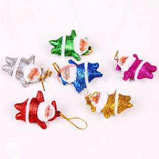 30pcs/lot(on a tree) Best Quality Christmas Decoration,Santa Claus for Christmas Tree Ornamet,Christmas Supplies for Christmas(China (Mainland))