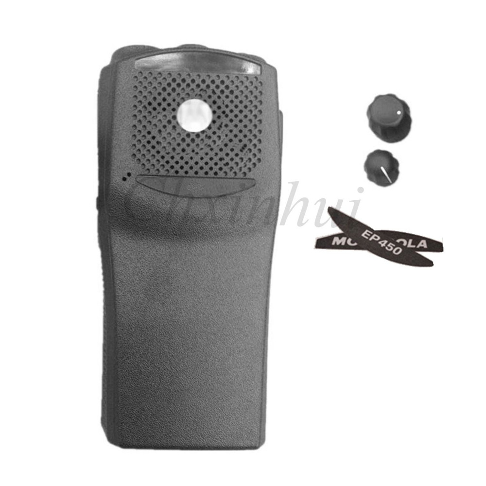 New housing shell case for motorola walkie talkie two way radio EP450 with the knobs(China (Mainland))
