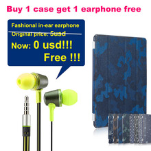 Buy 1 case get 1 earphone free ! Denim cases for Apple iPad air 1 case smart cover for iPad air 5 for ipad5  magnetic stand