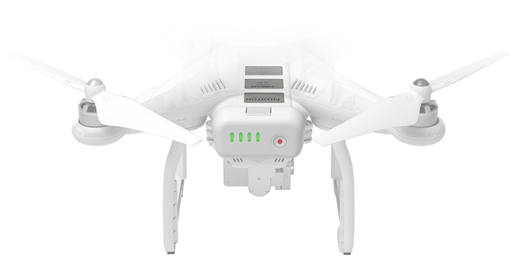 DJI Phantom 3 Professional Version With 4K Camera RC Quadcopter RTF with Extra Battery