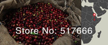 Free shipping 500g lot Yirgacheffe Ethiopian Green Coffee Beans Slimming Coffee