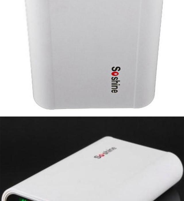 ถูก Soshine E3ธนาคารมือถือแบตเตอรี่ชาร์จกล่องจอแสดงผลLCDสำหรับ4ชิ้น18650แบตเตอรี่สำหรับโทรศัพท์มือถือที่มีสายUSB