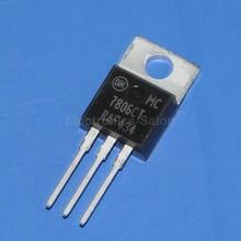 ( 50 шт./лот ) на полу 7806 ic, Положительный 6 В регулятор напряжения, Mc7806ct(China (Mainland))