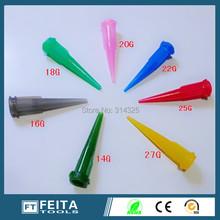 14g-27g TT Plastic Glue-dripping needle/glue dispensing needle/Glue dispenser tips(China (Mainland))