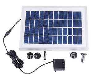 5W 12V Solar Panel Water Pump Pond Home Garden Free Shipping Top quality  Free Shipping