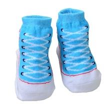 Cotton Baby socks rubber slip-resistant floor socks Cute kids socks for girls boys 0-12M Child nice gifts