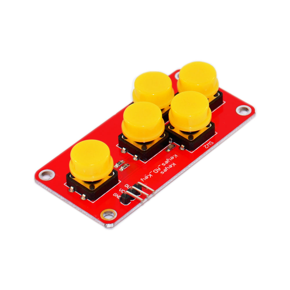Analoge Taste für Arduino Keyboard Electronic Simulate Five Key Modul ML