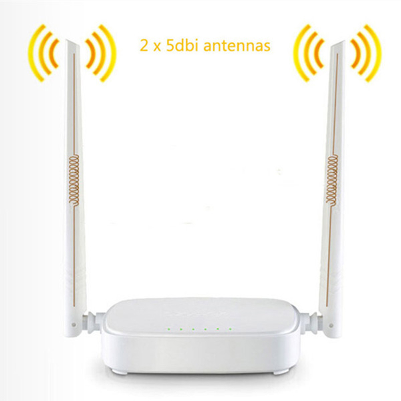 English Firmware Wireless Router Tenda N301 Wifi Router 300Mbps 802.11 b/g/n/3/3u Access Point Signal Booster 4 Ports(China (Mainland))