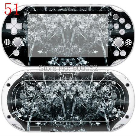 Iron Man Game front&back Decorative Skin Sticker For PS Vita 2000 PSV2000(China (Mainland))