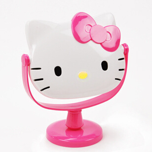 Hello Kitty Beauty Tools Makeup Mirror Best Gift For Girls(China (Mainland))
