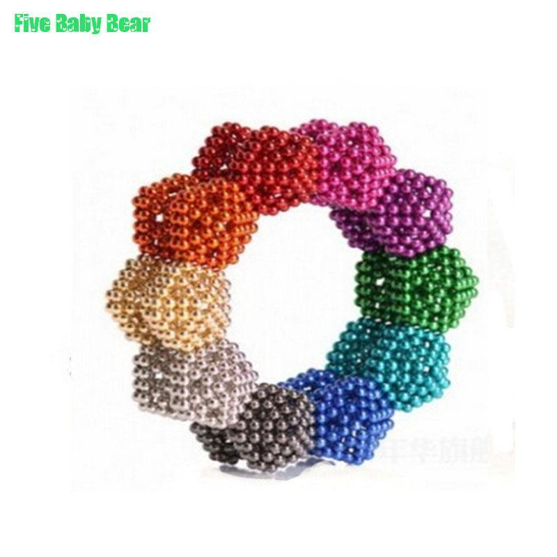 216pcs 3mm neodymium magnetic balls spheres beads magic cube magnets puzzle birthday present for children vacuum package(China (Mainland))