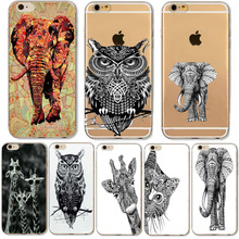 Buy Indian Elephant Owl Giraffe Cases iphone 6 6S 7 Samsung Galaxy A3 A5 2016 Xiaomi Redmi Hongmi 3S Soft Silicone Back Cover for $1.29 in AliExpress store