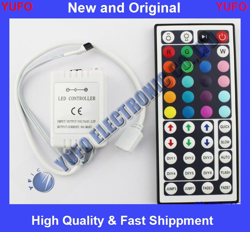 Free Shipping 44-key DC 12V Infrared Remote Controller LED Lights New Enlarge Sell one l(China (Mainland))