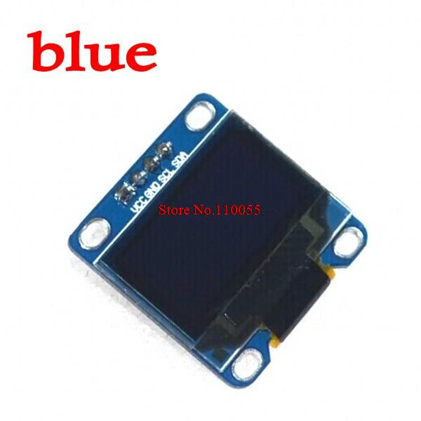 "1Pcs blue 128X64 OLED LCD LED Display Module 0.96"" I2C IIC SPI Serial new original(China (Mainland))"