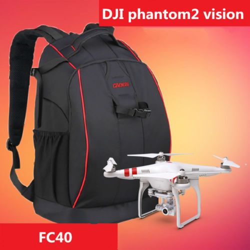 DJI Shoulder Bag Backpack Travel Carrying Case Phantom 1 2 Vision+ 3 Black - Retail and from China store