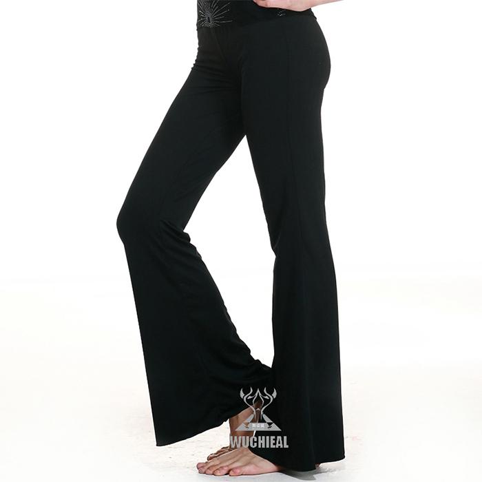 2014 Comfortable Beautiful Belly Dance Cotton Pants, Practice Pants (QC10012) - Guangzhou Qiancai Dancing Clothes Crafts Factory store