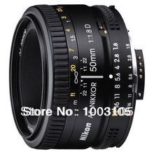 Original 50 1.8D Lens Nikkor AF 50mm F1.8D Lens For Nikon D80 D90 D7000 D7100 D300 D600 D700 D3 Digital SLR Cameras(China (Mainland))