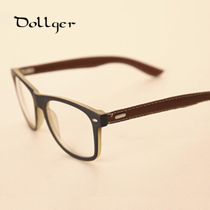 Glasses Leather Frame : Aliexpress.com : Buy Leather Legs Spectacle Frames ...