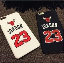 "Chicago Bulls No.23 Jordan Basketball Matte PC Case For Apple iPhone 5 5s 5SE 6 6s 4.7"" 6 plus 5.5"" Jumpman Sports Phone Cases(China (Mainland))"